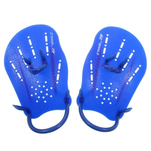 WHALE 1 Pair Solid Color Swimming Training Paddle for Beginner Size: M