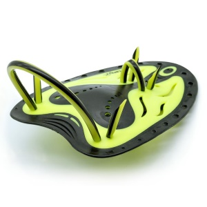 COPOZZ Dual Color Swimming Training Flippers Paddles CPZ_PAD400 Size: S - Yellow / Black