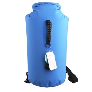 Waterproof Floating Dry Bag Compression Sack Roll Top 35L - Baby Blue