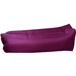 GOLDEN TAI Side Pocket Air Inflation Sofa Couch Bag Square Side pour Beach Camping Rest - Violet