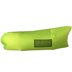 Portable Outdoor Indoor Air Inflatable Lounger Couch Waterproof Sleeping Bag - Green