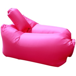GOLDEN TAI Beach Camping Riparazione Resto Air Inflation Sofa Bag + Cuscino - Rosa