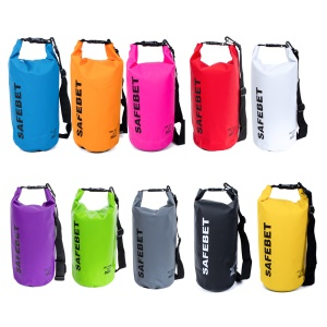 20L Waterproof Dry Pouch Bag for Outdoor Rafting Swimming Floating - Blue