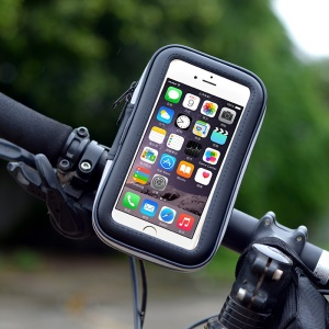 LXH-032 Bicycle Bike Handlebar Mount Phone Holder Case for iPhone SE 5s 5 etc. - Size: S