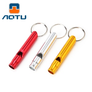 AOTU AT7609 Durable Pet Dog Training Whistle Outdoor Survival Training