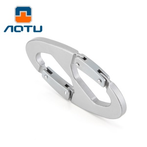AOTU AT7601 8 Shaped Fast Ganging Buckle Backpack Clasps Climbing Buckle