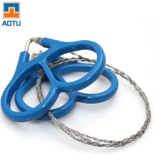 AOTU AT7501 Steel Wire Saw Emergency Camping Hunting Survival Army Issue Cutter Tool Kit