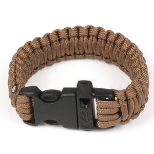 AOTU AT9001 Outdoor Emergency Paracord Rope Bracelet - Brown
