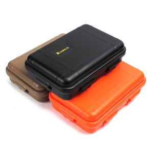AOTU Large Size Outdoor Waterproof Shockproof Storage Box ESD Tool Travel Sealed Case Container