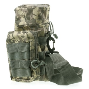 20L Outdoor Sports Military MOLLE Water Bottle Bag Pouch - ACU Camo