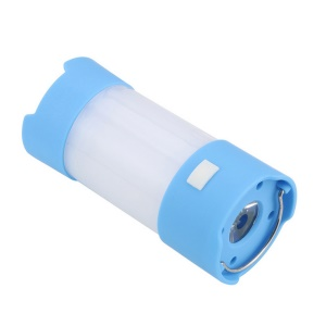 AOTU 3W Mini Portable Multifunctional Dimmable Camping Light - Blue