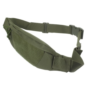 Tactical Military Outdoor Sports Riding Running Waterproof Bag Chest Waist Pouch - Army Green