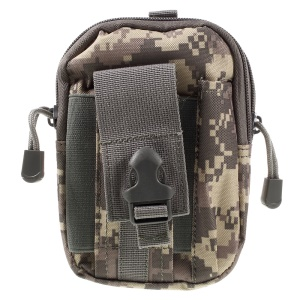 Outdoor Sports Running Belt Bag Camping Hiking Waist Bag Pouch - ACU Camouflage