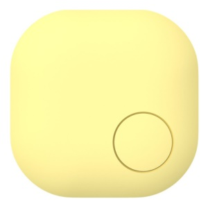Nut3s Wallet Phone Key Anti-lost Alarm Bluetooth Finder - Yellow