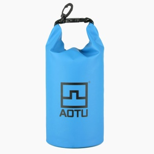 AOTU AT6623 1.5L Digital Camera Waterproof Bag Pouch for Outdoor Swimming Drifting - Blue