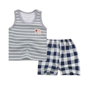 Size: 55 / Grey Stripes