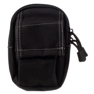 M3 Outdoor Multi-layer Practical Portable Waist Bag - Black