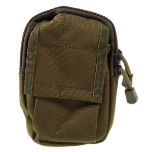 M3 Outdoor Multi-layer Practical Nylon Waist Bag - Exército verde