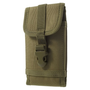 Military Molle 1000D Nylon Outdoor Pouch Pack for iPhone 6 Plus/Samsung S7 Etc - Khaki