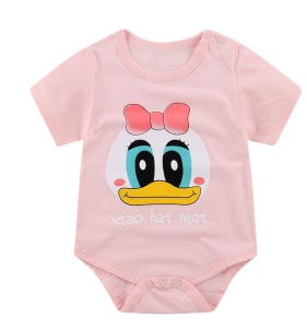 Duck with Bowknot