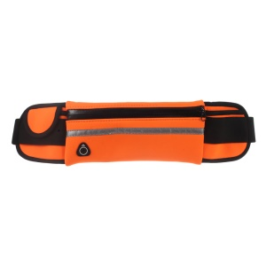 Outdoor Sports Waist Pack with Earphone Hole for iPhone 7 Plus/ 6s Plus / Galaxy S7 edge - Orange