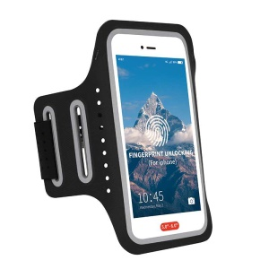 Universal 5 inch Smartphones Cycling Running Fitness Armband Case - Black