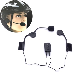 AITOUCH R7 Wireless Bluetooth 4.1 Outdoor Riding Headset Headphone Bicycle Helmet Microphone Helmet Earphone