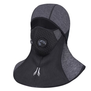 Outdoor Sports Mask Breathable Face Mask Warmer Balaclava Hood with Valve