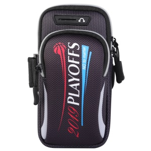Universal Running Sports Phone Armband Bag with Headphone Hole, Size: 190x90mm - Style D