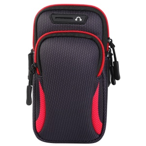 Universal Running Sports Phone Armband Bag with Headphone Hole, Size: 190x90mm - Style I