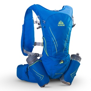 AONIJIE 15L Hiking Backpack Unisex Waterproof Backpack for Outdoor Climbing Camping Riding - Blue