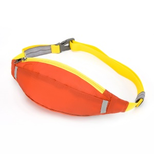 HUWAIJIANFENG Outdoor Sports Waist Pouch Sleeve with Earphone Hole - Orange