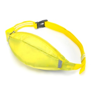 HUWAIJIANFENG Outdoor Sports Waist Sleeve Pouch with Earphone Hole - Yellow