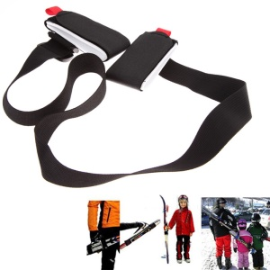 Adjustable Snowboard Ski Pole Shoulder Carrier Strap