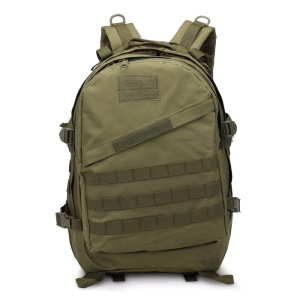 BL003 MOLLE Military Tactical Daypack Outdoor Travel Bag 40L - Army Green