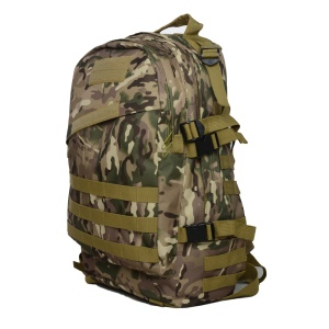 Outdoor Waterproof Camping 40L Tactical 3D Backpack Bag - CP Camouflage