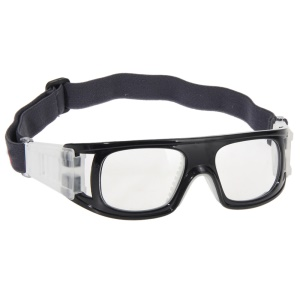 Sports Basketball Goggles Frame Eye Protector for Adults - Black