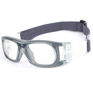 Basketball Football Sports Protective Goggles Frame for Adults - Grey