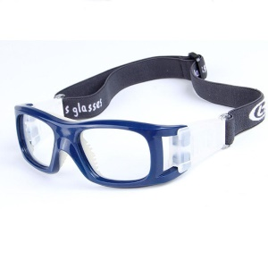 Eye Protective Glasses Frame for Free Sports Can Install Myopic Lens - Blue