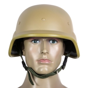 M88 Tactical CS Field Airsoft Army Protective Helmet Cover - Tan