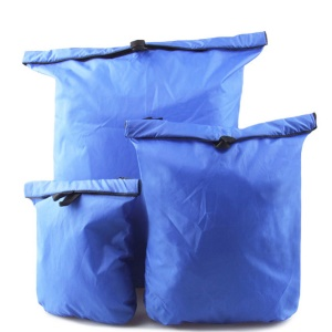 3PCS/Set Waterproof Storage Dry Bag Pouch for Canoeing Rafting Floating Camping - Blue