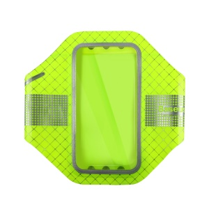 BASEUS Ultra Thin Sports Running Fitness Armband for iPhone 6s/6/7/8, Size: 14 x 7.7cm - Green
