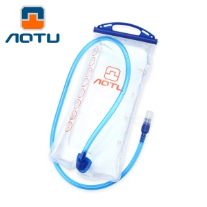 2L EPPE Hydration Bladder Bicycle Cycling Hiking Water Bag Pouch - Transparent