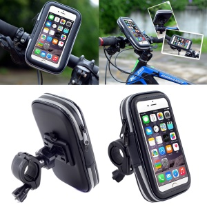 LXH-032 Bicycle Handlebar Mount Holder Case for iPhone 8 Plus/7 Plus / 6s Plus etc. - Size: L