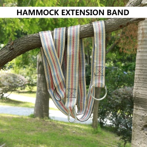 2PCS Outdoor Tree Swing Strap Hanging Rope Kit Set Sturdy and Safe Hold up to 150kg