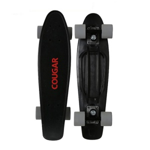 Cool and Fashionable Outdoor Sports Skateboard Sliding Plate - Black