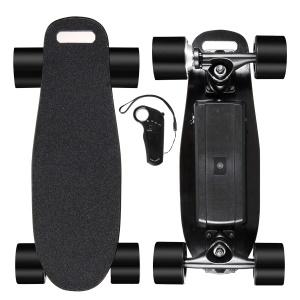 Mini Cruiser Skateboard Plastic Board Lightweight Skateboard for Kids Boys - EU Plug