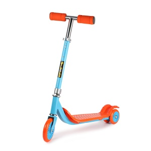 BULEX Three-wheel Kids Kick Scooter Bright Color (L-3300) - Orange