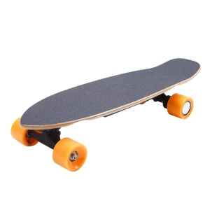 SOULRUN Children Electric Skateboard Wireless Bluetooth Remote Control - Grey / EU Plug