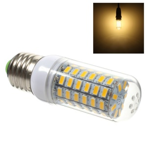 E27 5730 11W 69 LED Light Corn Lamp with Cover - Warm White